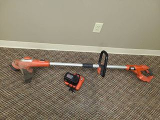 BlACK AND DECKER CORDlESS WEED EATER
