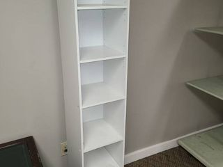 White Cubby Shelving Unit 65 x 12 x 12 in