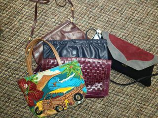 ladies Clutches  lOT of 5