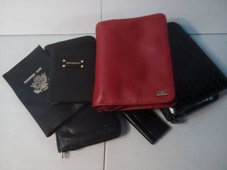 Planner Books with Passport Carriers