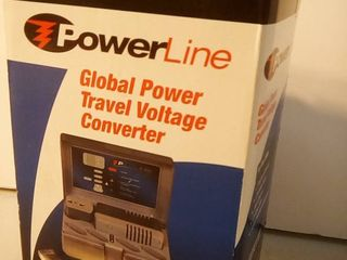 Powerline Global Power Travel Voltage Converter New In Box