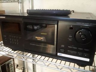 Sony Mega Storage 200 CD Player with Remote