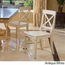 Rovie Acacia Wood Dining Chairs  Set of 2