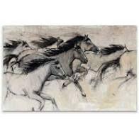 Horses in Motion 1 Framed Giclee Print