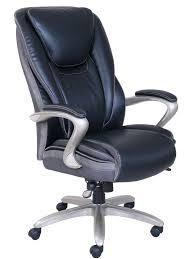 Serta   Smart layers leather Executive Chair   Black