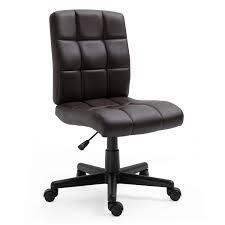 Eva low Back Adjustable Task Chair in Brown