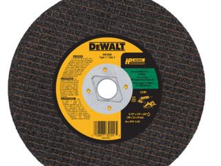 DeWalt Metal Masonry Cutter