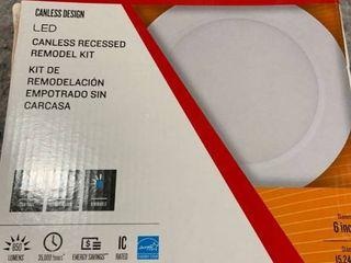 Utilitech   2700k Soft White   Canless Recessed Model Kit