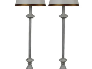 Banchetto Buffet lamps  Distressed White