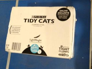 Purina Tidy Cats Clunping litter   For Multiple Cats   Glade Tough Ordor Solutions