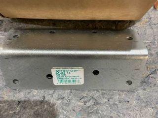 MiTek 8 Hole Brackets   15 Pieces