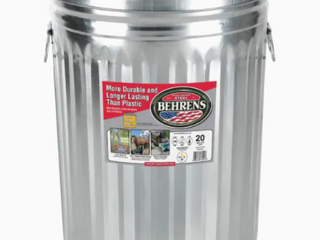Berhens   20g Steel Can with lid