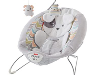 Fisher Price Sweet Snuga Puppy   Dreams Deluxe Bouncer