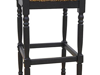 Antique Black Morgan Counter Height   23 28 in    Single   Black Retail 93 49 2662 RTA AB