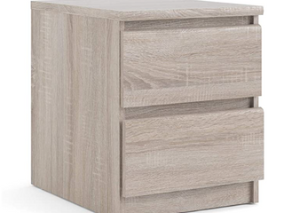 Tvilum   2 Drawer Night Stand   Truffle Color