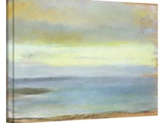 24x32   Edgar Degas Marine Sunset Gallery Wrapped Canvas Art