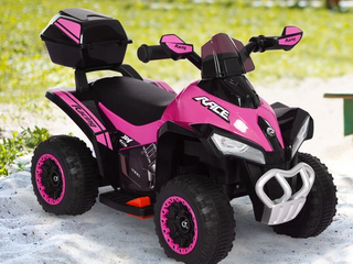 Aosom   Kids Electric ATV Motorcycle Bench