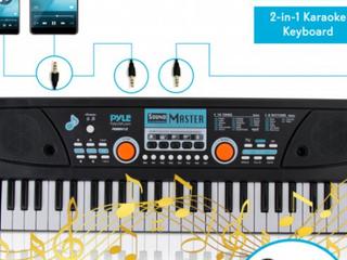 Pyle 49 Keys Digital Musical Karaoke Keyboard   PKBRD4112