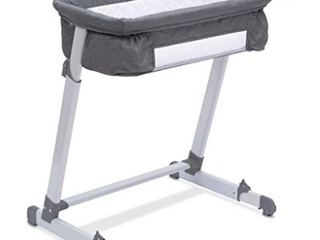 Simmons Kids  By The Bed City Sleeper Bassinet   Gray Tweed