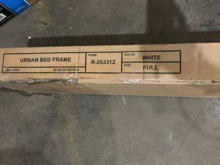 Atlantic Furniture   Urban Bed Frame   Full   White R 263312