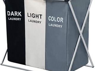 Clothes Hamper  Dark  light  Color Seperated Clothing Hamper