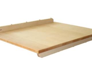 Pastry  Bread Board   Pastry  Bread Board Hard Maple 22 x28 x3 4    Retail 102 99