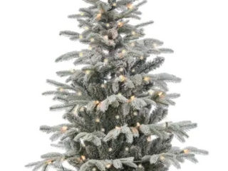 Gerson 4 5 foot Iceland Fir Pre lit Potted Artificial Christmas Tree Retail 92 99