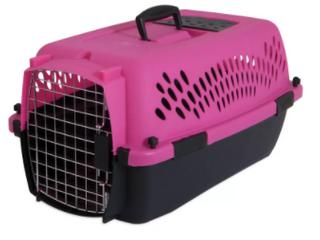 Petmate 21088 Pet Taxi  Dark Pink Black 23