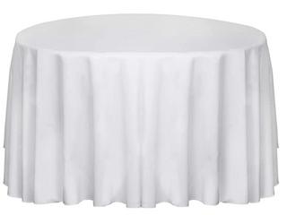 Utopia Kitchen Premium Quality 120 Inch Round Polyester Tablecloth