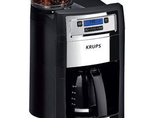Krups 10 Cup Gring And Brew Coffee Maker