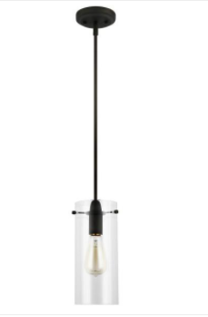 light Society Montreal Clear Glass Pendant