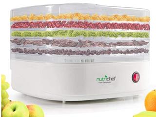 Nutrichef Convient Kitchen Style   Food Dehydrator PKFD12