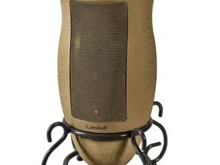 lasko Ceramic Heater with Stand   Beige Tan
