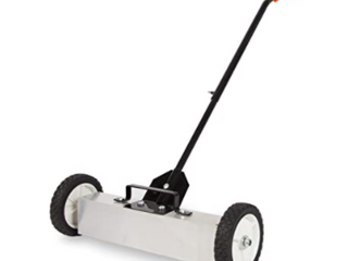 18  Contractor Grade Magnetic Sweeper with Quick Release