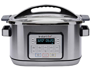 Instant Pot Aura Pro Multi Use Programmable Multicooker With Sous Vide With Advanced Microprocessor Technology