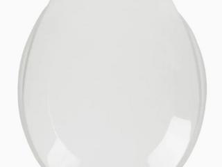 Aqua Source   White Round Toilet Seat