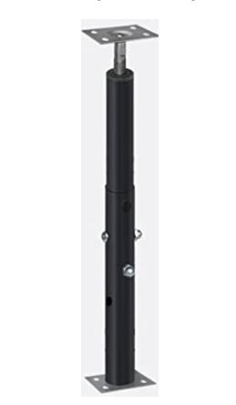 Telescoping Adjustable Floor Jack   1 7    3