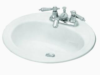 Briggs Bath   Porcelian Enameled Steel   lavatory