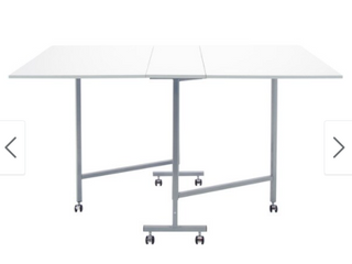 Studio Designs White Powder coated Craft and Cutting Sewing Machine Table  Retail 158 99
