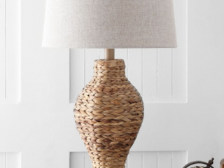 Elicia 31  Seagrass Weave lED Table lamp