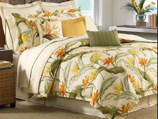 Tommy Bahama Queen Comforter Set  retail  335 00