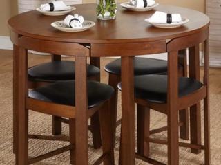 Harrisburg 5 piece Tobey Compact Round Dining Set  Retail 324 49