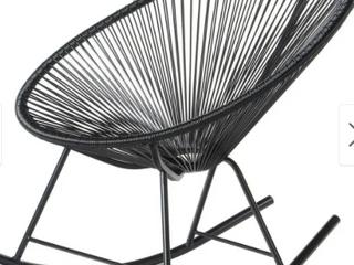 Acapulco Rocker Indoor Outdoor Chair  Retail 193 99