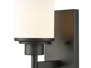 1 Up light Sconce With Oil Rubbed