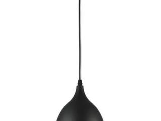 Chloe Walter Collection 1 light Matte Black Pendant