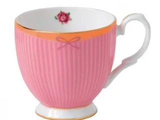 Candy Vintage Sweet Stripe 10 5 ounce Mug