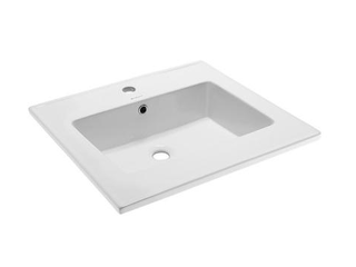 Swiss Madison Voltaire 25  Ceramic Vanity Top   Single Faucet Hole