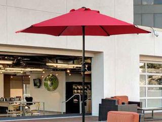 Maypex 7 5 Feet Crank Market Umbrella