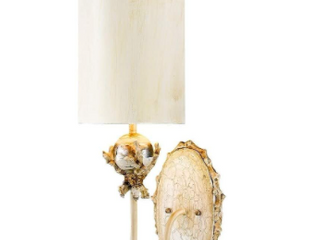 One light Whimsical Trellis Wall Sconce