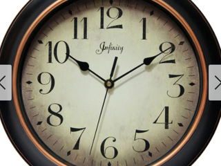Copper Grove Kaffir 12 inch Classic Kitchen Round Clock